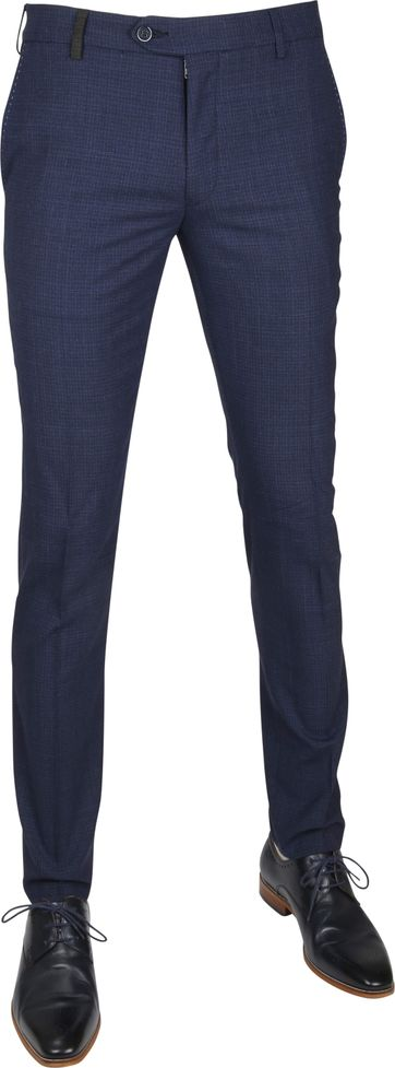 Suitable Premium Pantalon Milano Navy