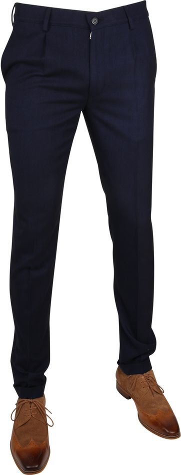 Suitable Premium Pants Rimini Navy