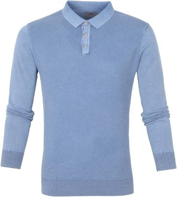 Suitable Prestige Benny LS Polo Blauw