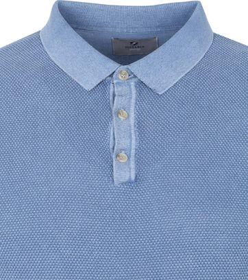 Suitable Prestige Benny LS Polo Blauw