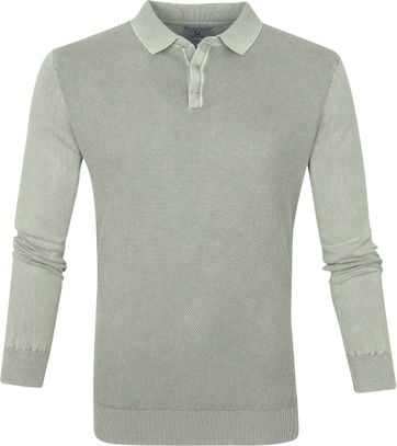 Suitable Prestige Benny LS Polo Groen