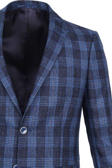 Suitable Prestige Blazer Captiva Amqui Karo Blau