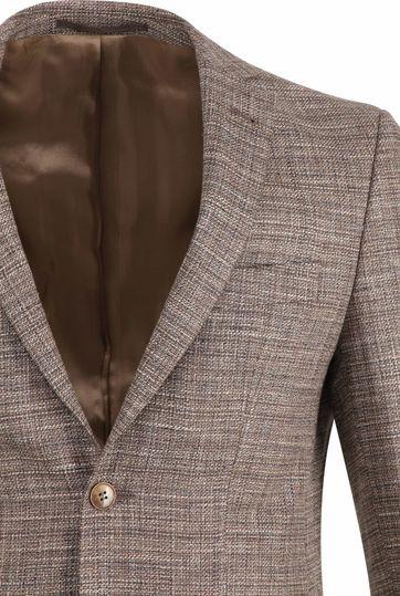 Suitable Prestige Blazer Tollegno Brown