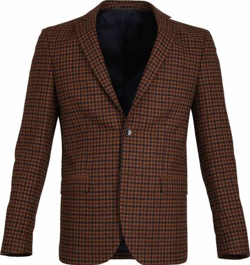Suitable Prestige Blazer Tollegno Checks