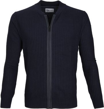 Suitable Prestige Cardigan Navy
