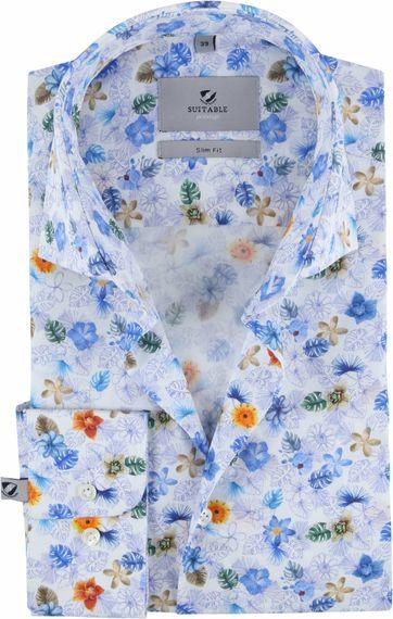 Suitable Prestige CAW Hemd Blumen