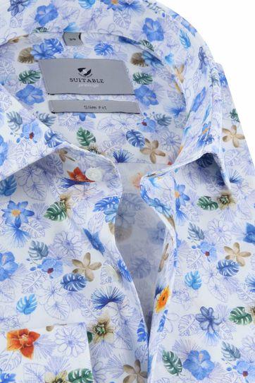 Suitable Prestige CAW Overhemd Bloemen