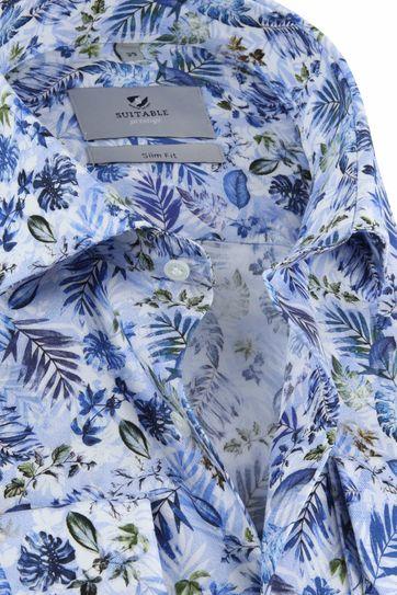 Suitable Prestige CAW Overhemd Blue Safari