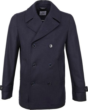 Suitable Prestige Coat Nathan Navy