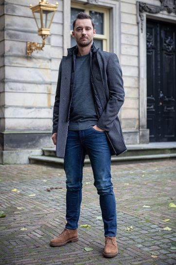 Suitable Prestige Hamburg Coat Dark Grey