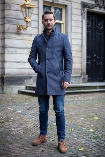 Suitable Prestige Hamburg Coat Dunkelblau
