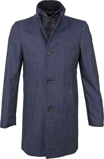 Suitable Prestige Hamburg Coat Navy
