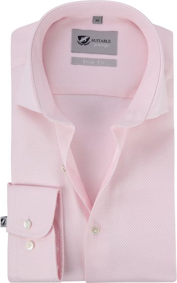Suitable Prestige Hemd Albini Roze