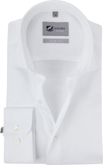 Suitable Prestige Hemd Albini Weiß
