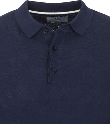 Suitable Prestige Jerry Polo Donkerblauw