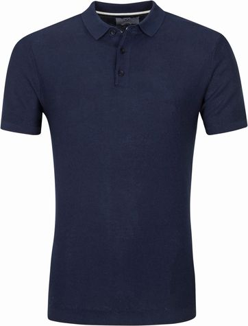 Suitable Prestige  Jerry Polo Shirt Navy
