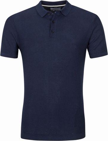 Suitable Prestige Jerry Poloshirt Navy