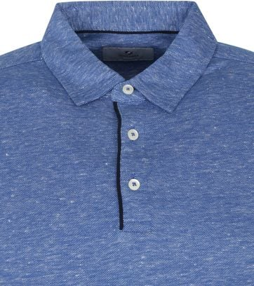 Suitable Prestige Melange Polo Indigo White
