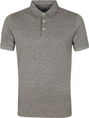 Suitable Prestige Melange Polo Shirt Olive Green