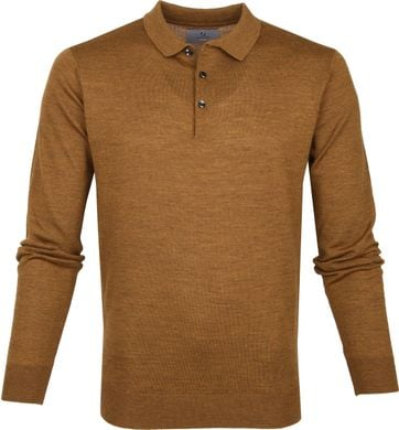 Suitable Prestige Merino Polo Shirt Bronze