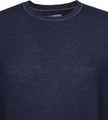 Suitable Prestige Merino Pullover Dunkelblau