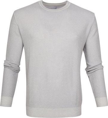 Suitable Prestige Merino Pullover Grau