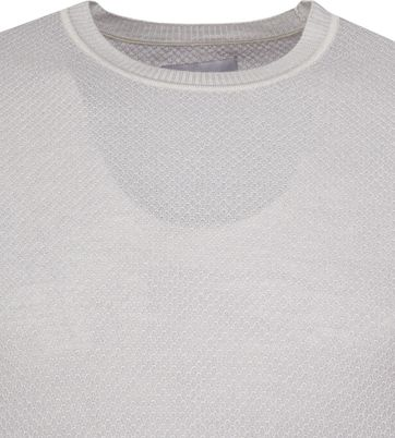 Suitable Prestige Merino Pullover Grijs