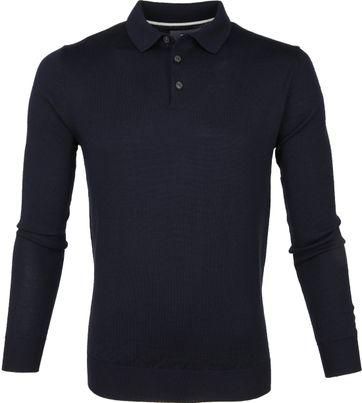 Suitable Prestige Polo Merino Dunkeblau