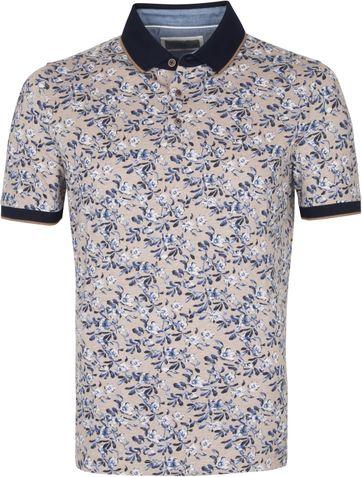 Suitable Prestige Polo Shirt Flower Beige