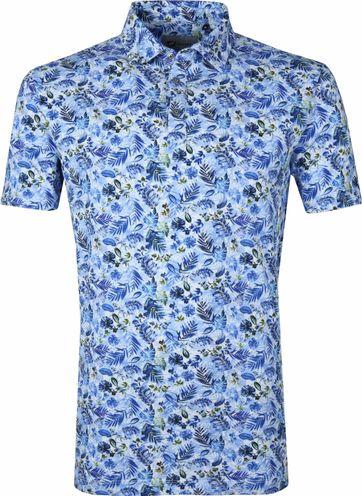 Suitable Prestige Poloshirt Blau Safari