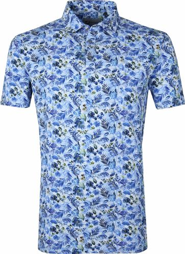 Suitable Prestige Poloshirt Blue Safari