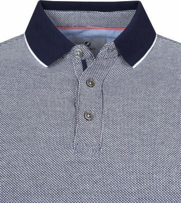 Suitable Prestige Poloshirt Melange Navy