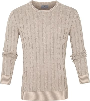Suitable Prestige Pullover Cedric Beige
