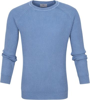 Suitable Prestige Pullover Cris Blauw