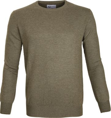 Suitable Prestige Pullover Merino Army