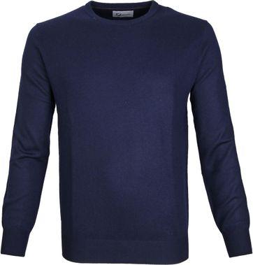 Suitable Prestige Pullover Merino Dunkelblau