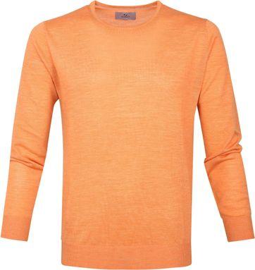 Suitable Prestige Pullover Oranje Merino