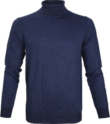 Suitable Prestige Rollkragenpullover Merino Navy