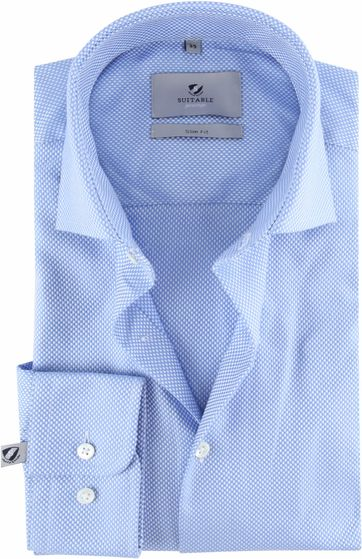 Suitable Prestige Shirt Albini Blue