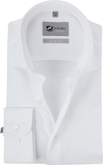 Suitable Prestige Shirt Albini White