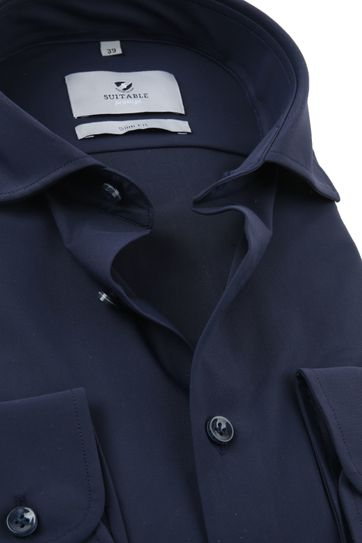Suitable Prestige Shirt Dark Blue