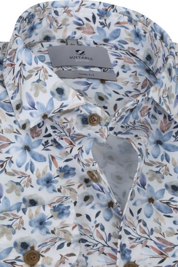 Suitable Prestige Shirt Flowers Acquarel