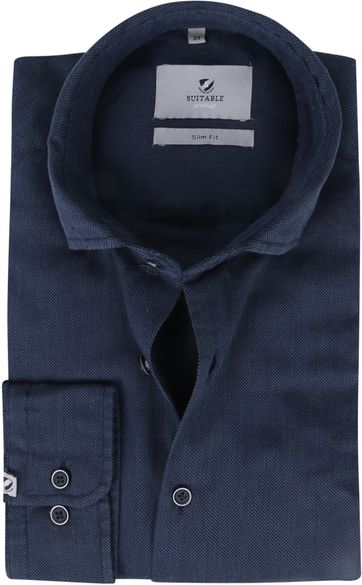 Suitable Prestige Shirt Funi Dark Blue