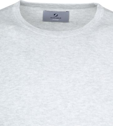 Suitable Prestige T-shirt Knitted Grey