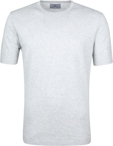 Suitable Prestige T-shirt Knitted Grijs