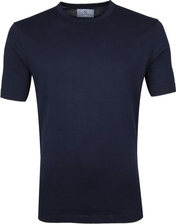 Suitable Prestige T-shirt Knitted Navy
