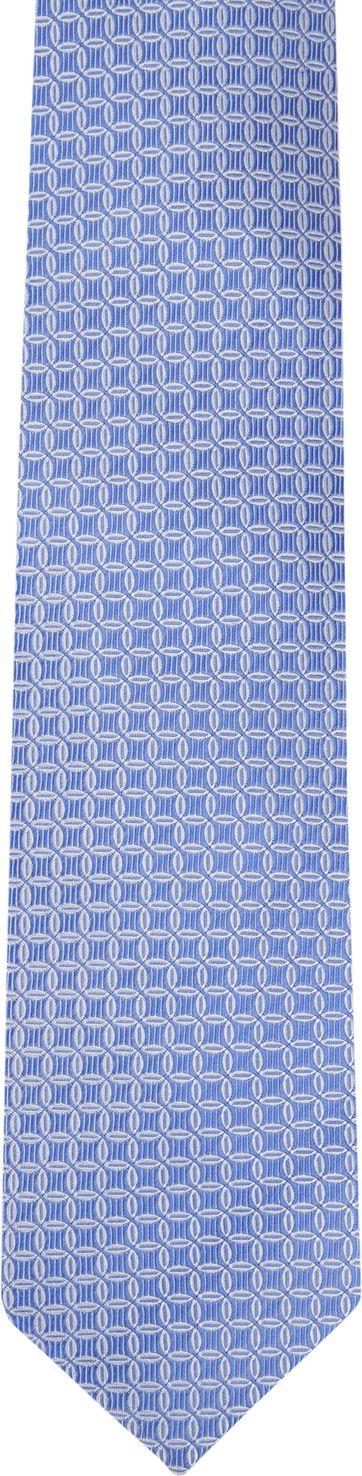 Suitable Progetto Krawatte Kreis Blau