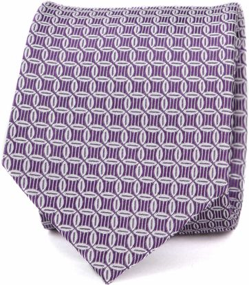 Suitable Progetto Tie Circle Purple