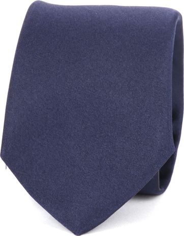 Suitable Progetto Tie Satin Navy