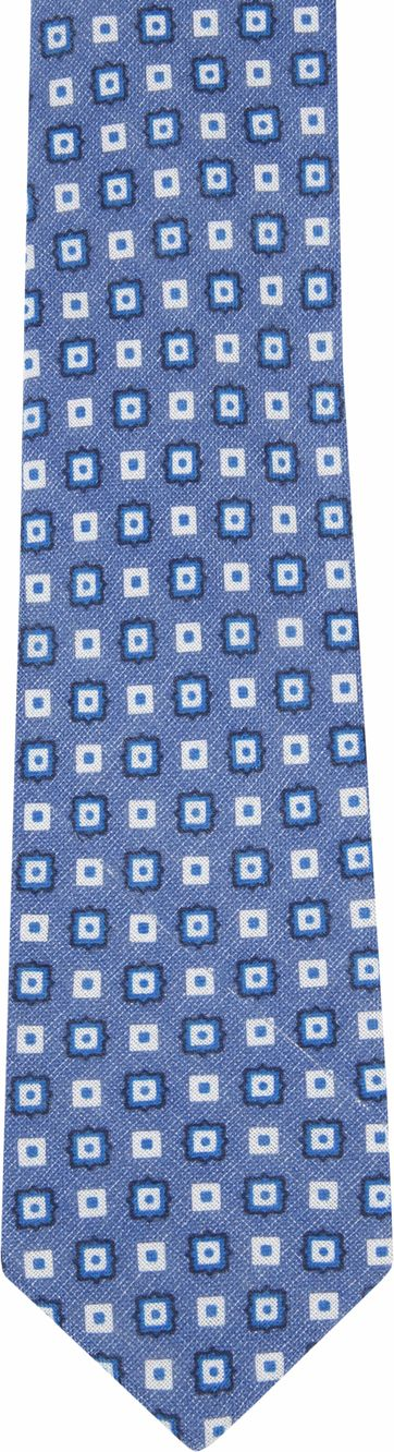 Suitable Progetto Tie Square Blue
